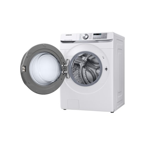5.0 cu. ft. Smart Front Load Washer with Super Speed in White
