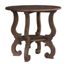 Napa Valley Baroque Round Lamp Table