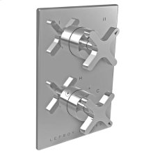 Cross handle pressure balance with cross handle 2-way diverter trim only, to suit K1-4101 rough