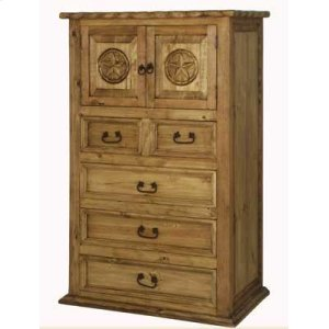 Mansion Chest W/Rope and Star