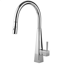 Natalia kitchen mixer with pull-out double spray Max flow rate 1