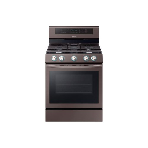 5.8 cu. ft. Freestanding Gas Range with True Convection in Tuscan Stainless Steel