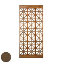 TEAK LATTICE FLOOR SCREEN