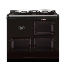 Pewter 2-Oven AGA Cooker (gas) Cast-iron range cooker
