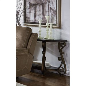 Sofa/console Table, W/glass