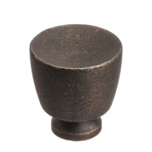 "1 1/4"" Knob - Distressed Oil Rubbed Bronze"