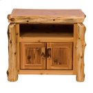 Television Stand - Natural Cedar Product Image
