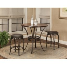 "CR-J3005  3 Piece 36"" Round Pub Table Set"