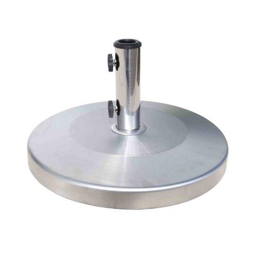 Patio Umbrella Base : Stainless Steel