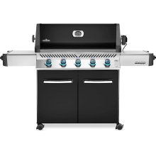Prestige 665 Gas Grill , Black , Natural Gas