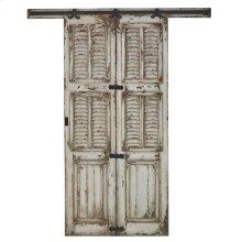 Single Shutter Sliding Door