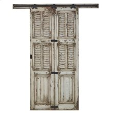 Single Shutter Sliding Door
