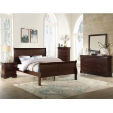 Louis Philip Night Stand Cherry