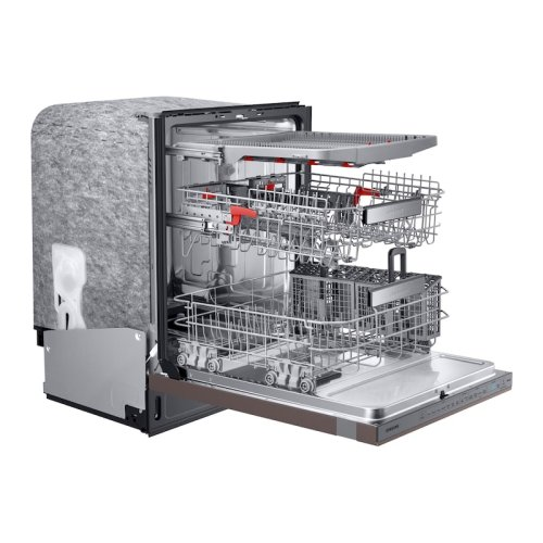 Linear Wash 39 dBA Dishwasher in Tuscan Stainless Steel