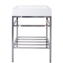 "23"" x 19"" free-standing console"