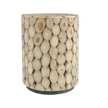 Medallion Stool Round Natural