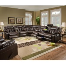 Double Motion Console Loveseat