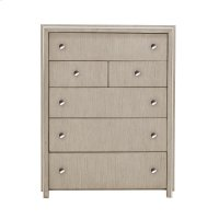 Sutton Place 6 Drawer Chest in Oak Brown Product Image