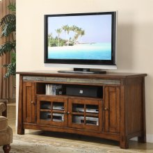 Craftsman Home - 62-inch TV Console - Americana Oak Finish