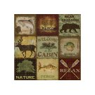 Lodge Collage By Jean Plout Product Image