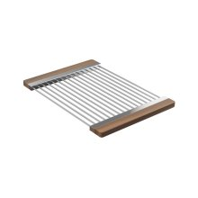 Drying Rack 215009 - Walnut Fireclay sink accessory , Walnut