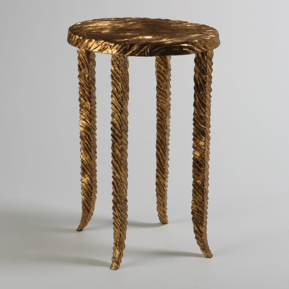 Gold Waves Martini Table
