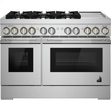 """48"""" RISE™ Dual-Fuel Professional-Style Range with Chrome-Infused Griddle, RISE"""
