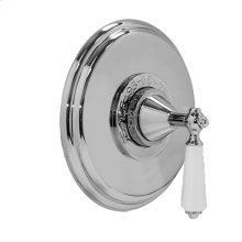 """3/4"""" Thermostatic Shower Set - Deluxe Plate with New Hampton Handle"""
