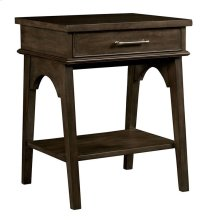 Chelsea Square Raisin Bedside Table