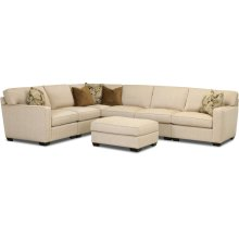 Comfort Design Living Room Expectations Sectional C4060 SECT