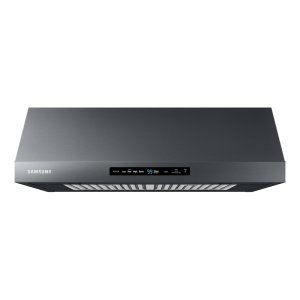 """30"""" Under Cabinet Hood in Black Stainless Steel Product Image"""