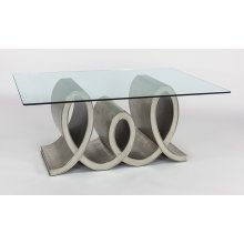 """Dining Table with Glass 54x21x30"""", glass top 76x45"""""""
