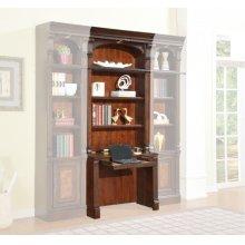 CORSICA 2 piece Library Desk and Hutch
