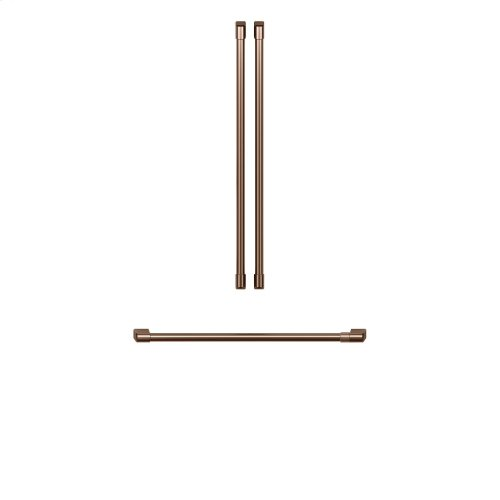Café Refrigeration Handle Kit - Brushed Copper