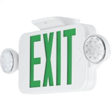 LED Combination Exit/Emergency Light