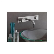 Build-in basin mixer with on-off sensor for hands free - Grey