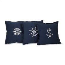 Admiral Pillows- Set of 3