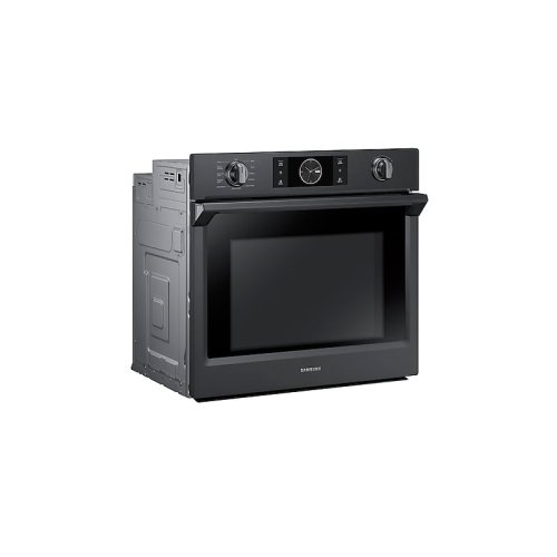 """30"""" Flex Duo Single Wall Oven in Black Stainless Steel"""