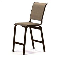 Aruba Sling Balcony Height Armless Cafe Chair