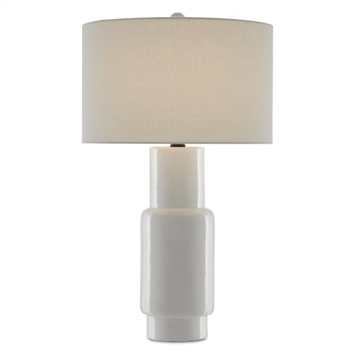 Janeen White Table Lamp