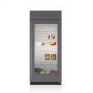 """36"""" Classic Refrigerator with Glass Door - Panel Ready Product Image"""