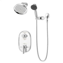 Symmons Lucetta Shower/Hand Shower System - Polished Chrome