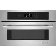 "Built-In Microwave Oven, 27"", Euro-Style Stainless Handle"