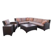 Right Side Corner Sofa & Left Side Sofa Spuncrylic #08050