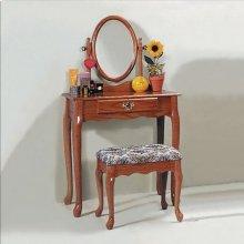 Vanity Set Oak