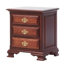 Victoria's Tradition 3 Drawer Nightstand