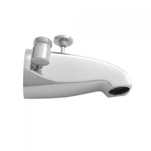 Antique Brass - Brass Diverter Tub Spout with Side Handshower Outlet Product Image