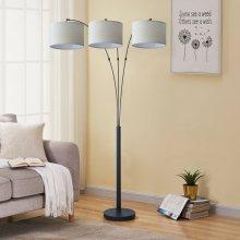 2819 3-Headed Floor Lamp
