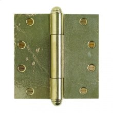 """Butt Hinge - 6"""" x 6"""" Silicon Bronze Brushed"""