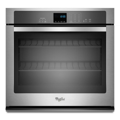 Whirlpool® 5.0 cu. ft. Single Wall Oven with extra-large window